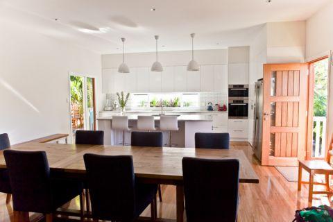 厨房推拉门现代风格装修图片