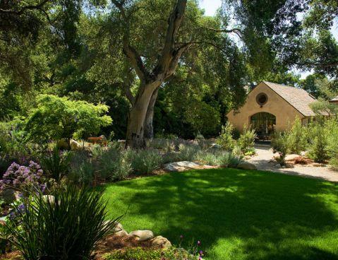 花园细节地中海风格效果图