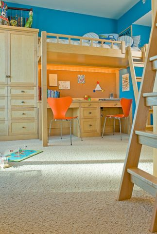 儿童房现代风格装饰效果图