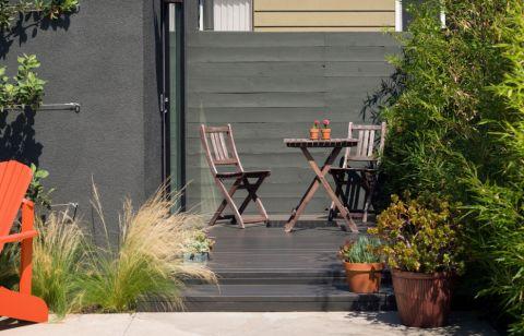 阳台茶几美式风格装潢设计图片
