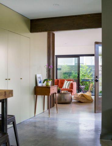 玄关地板砖美式风格装潢图片