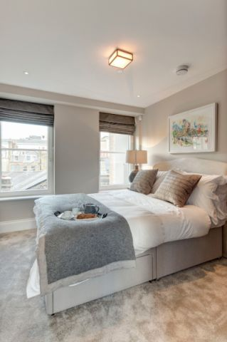 卧室灯具现代风格装潢设计图片