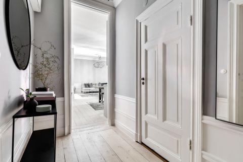 客厅走廊北欧风格装饰效果图