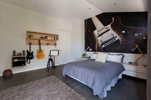 卧室北欧风格效果图大全2017图片_土拨鼠休闲创意卧室北欧风格装修设计效果图欣赏