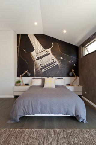 卧室北欧风格效果图大全2017图片_土拨鼠浪漫自然卧室北欧风格装修设计效果图欣赏