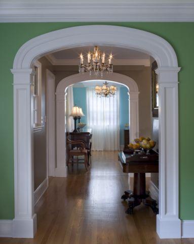 走廊美式风格装饰效果图