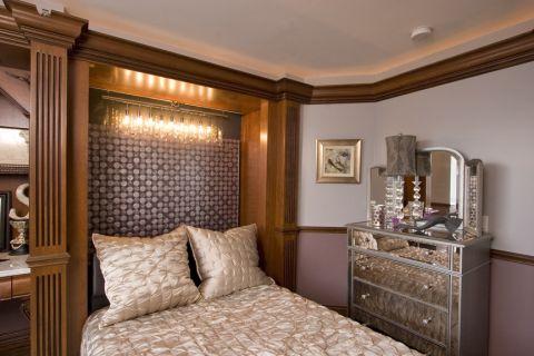 卧室混搭风格效果图大全2017图片_土拨鼠优雅舒适卧室混搭风格装修设计效果图欣赏