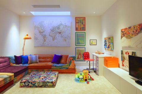 儿童房现代风格效果图大全2017图片_土拨鼠精致个性儿童房现代风格装修设计效果图欣赏