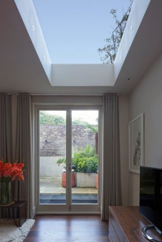 客厅窗帘现代风格装修效果图