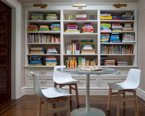 儿童房博古架现代风格装饰效果图