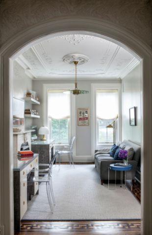 书房吊顶现代风格装潢图片