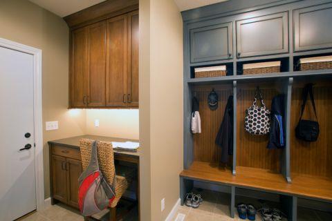 卫生间橱柜美式风格装潢效果图