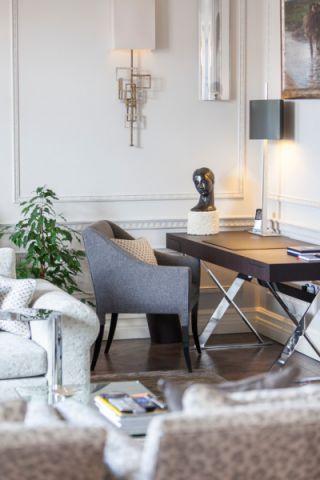 客厅书架现代风格装饰效果图