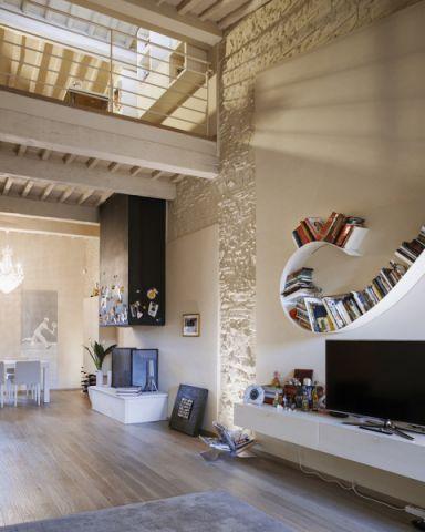 客厅现代风格效果图大全2017图片_土拨鼠个性纯净客厅现代风格装修设计效果图欣赏