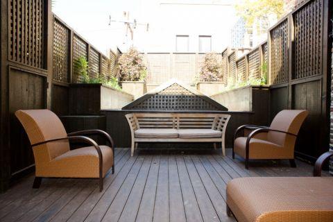 阳台地板砖现代风格装修效果图