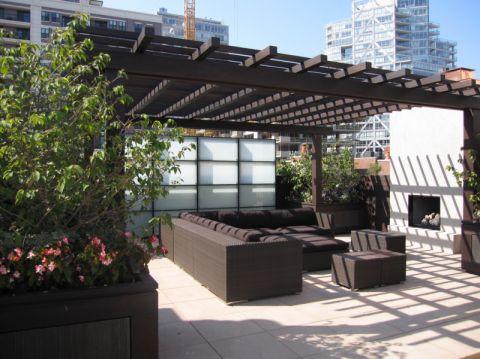 阳台吊顶现代风格装饰图片