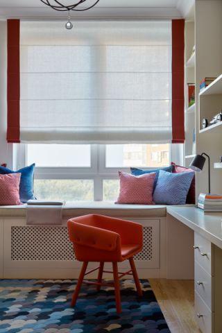 儿童房窗帘现代风格效果图