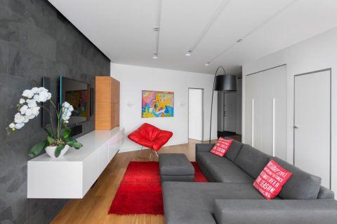客厅现代风格效果图大全2017图片_土拨鼠精致清新客厅现代风格装修设计效果图欣赏