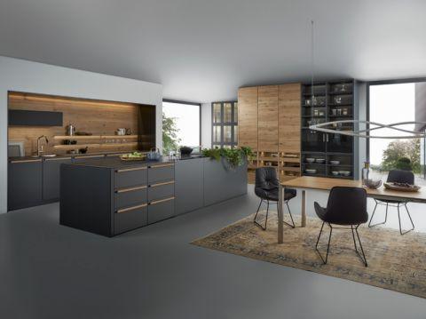 厨房餐桌现代风格装饰图片