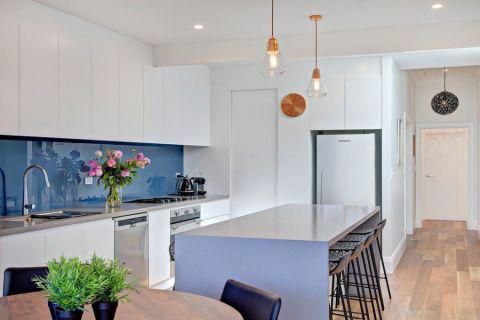 厨房现代风格效果图大全2017图片_土拨鼠现代沉稳厨房现代风格装修设计效果图欣赏