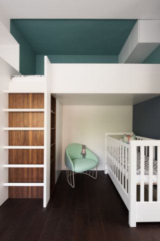 儿童房地板砖现代风格装修图片