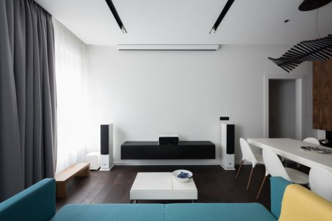 客厅茶几现代风格装潢图片