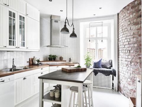 厨房橱柜北欧风格装饰效果图