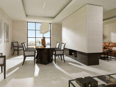 餐厅背景墙美式风格装潢设计图片