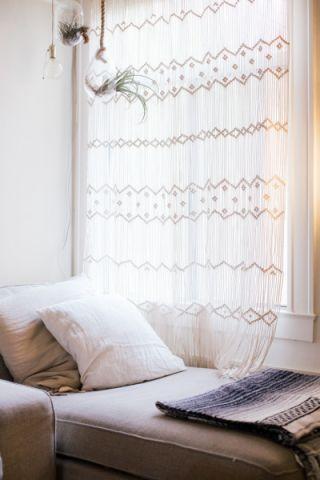 客厅窗帘混搭风格装潢图片