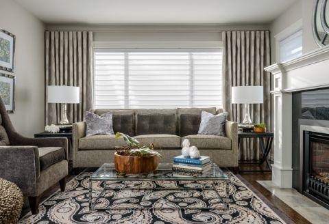 客厅现代风格效果图大全2017图片_土拨鼠豪华摩登客厅现代风格装修设计效果图欣赏