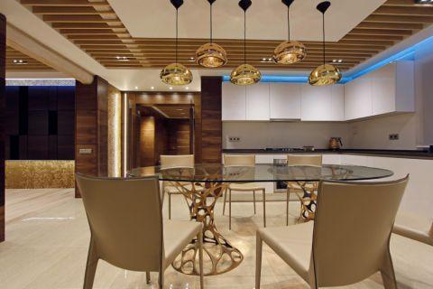 厨房灯具现代风格装潢设计图片