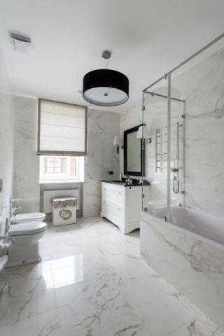 浴室地板砖美式风格装修效果图