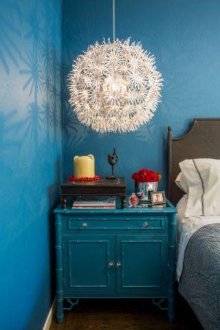 卧室灯具混搭风格装潢效果图