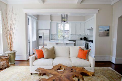 客厅美式风格效果图大全2017图片_土拨鼠简洁纯净客厅美式风格装修设计效果图欣赏