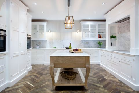 厨房混搭风格效果图大全2017图片_土拨鼠简约自然厨房混搭风格装修设计效果图欣赏