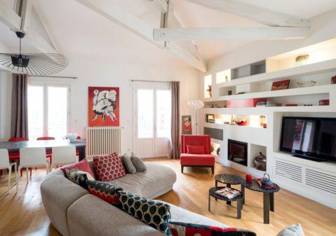客厅现代风格效果图大全2017图片_土拨鼠简洁淡雅客厅现代风格装修设计效果图欣赏
