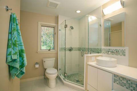 浴室美式风格效果图大全2017图片_土拨鼠个性优雅浴室美式风格装修设计效果图欣赏
