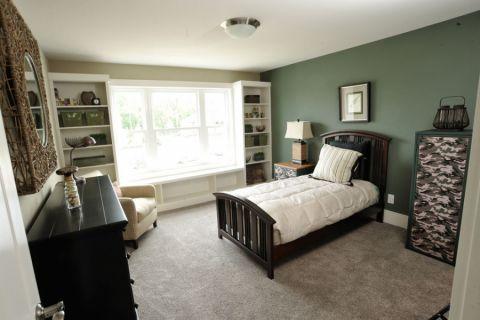 现代卧室飘窗装修