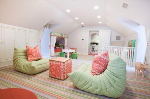儿童房现代风格效果图大全2017图片_土拨鼠简洁淡雅儿童房现代风格装修设计效果图欣赏