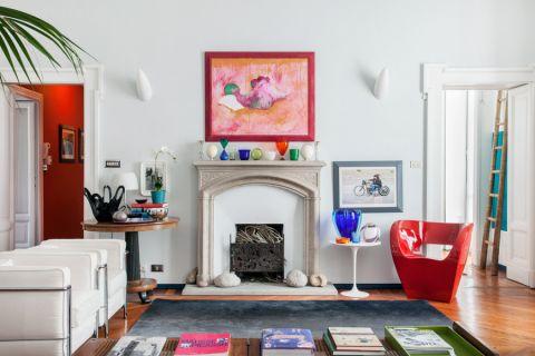 客厅混搭风格效果图大全2017图片