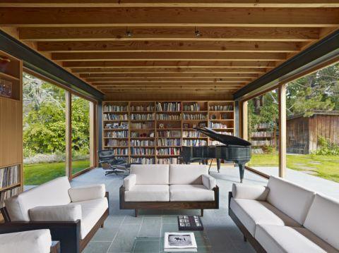 书房现代风格效果图大全2017图片