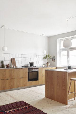 厨房现代风格效果图大全2017图片_土拨鼠古朴个性厨房现代风格装修设计效果图欣赏