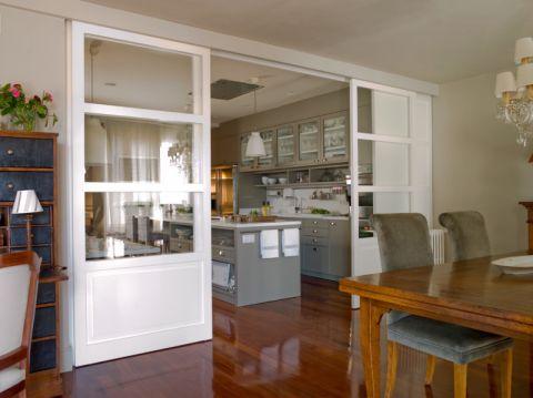 厨房混搭风格效果图大全2017图片_土拨鼠奢华个性厨房混搭风格装修设计效果图欣赏