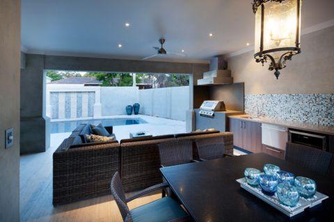 2019现代90平米效果图 2019现代一居室装饰设计