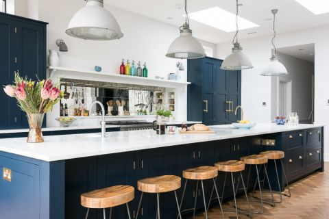 厨房美式风格效果图大全2017图片_土拨鼠优雅沉稳厨房美式风格装修设计效果图欣赏