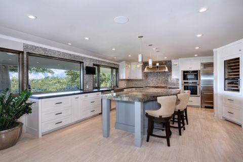 2019现代厨房装修图 2019现代吊顶设计图片