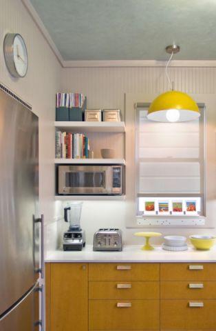 厨房现代风格效果图大全2017图片_土拨鼠时尚风雅厨房现代风格装修设计效果图欣赏