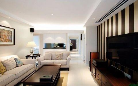 通用晶城现代风格92平米三居室装修效果图