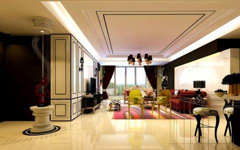 2018欧式110平米装修设计 2018欧式套房设计图片