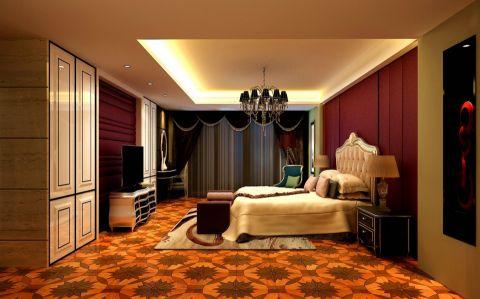 2018欧式卧室装修设计图片 2018欧式地板装修图片